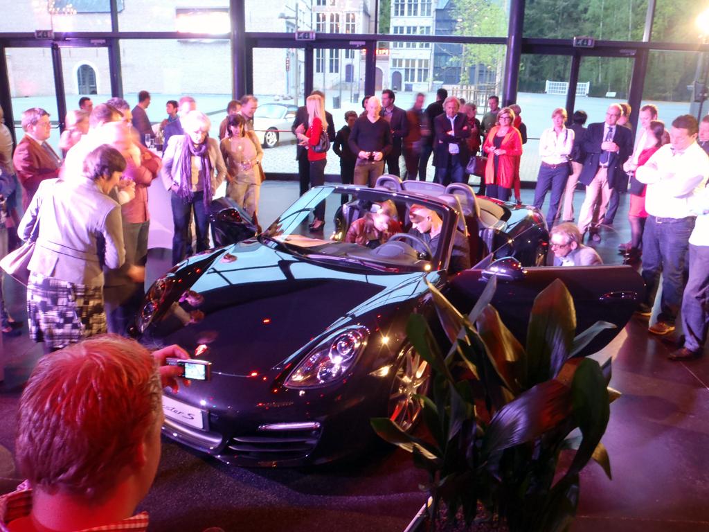 New Porsche Boxter 1