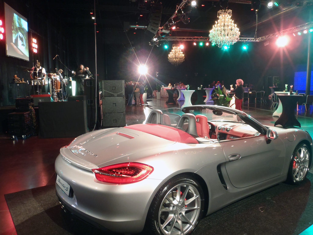 Porsche Boxter Dance floor